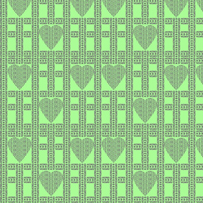 block-print-hearts-cross-green