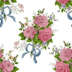 Vintage rose bouguet