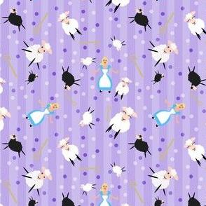 Little Bo Peep & Sheep Purple