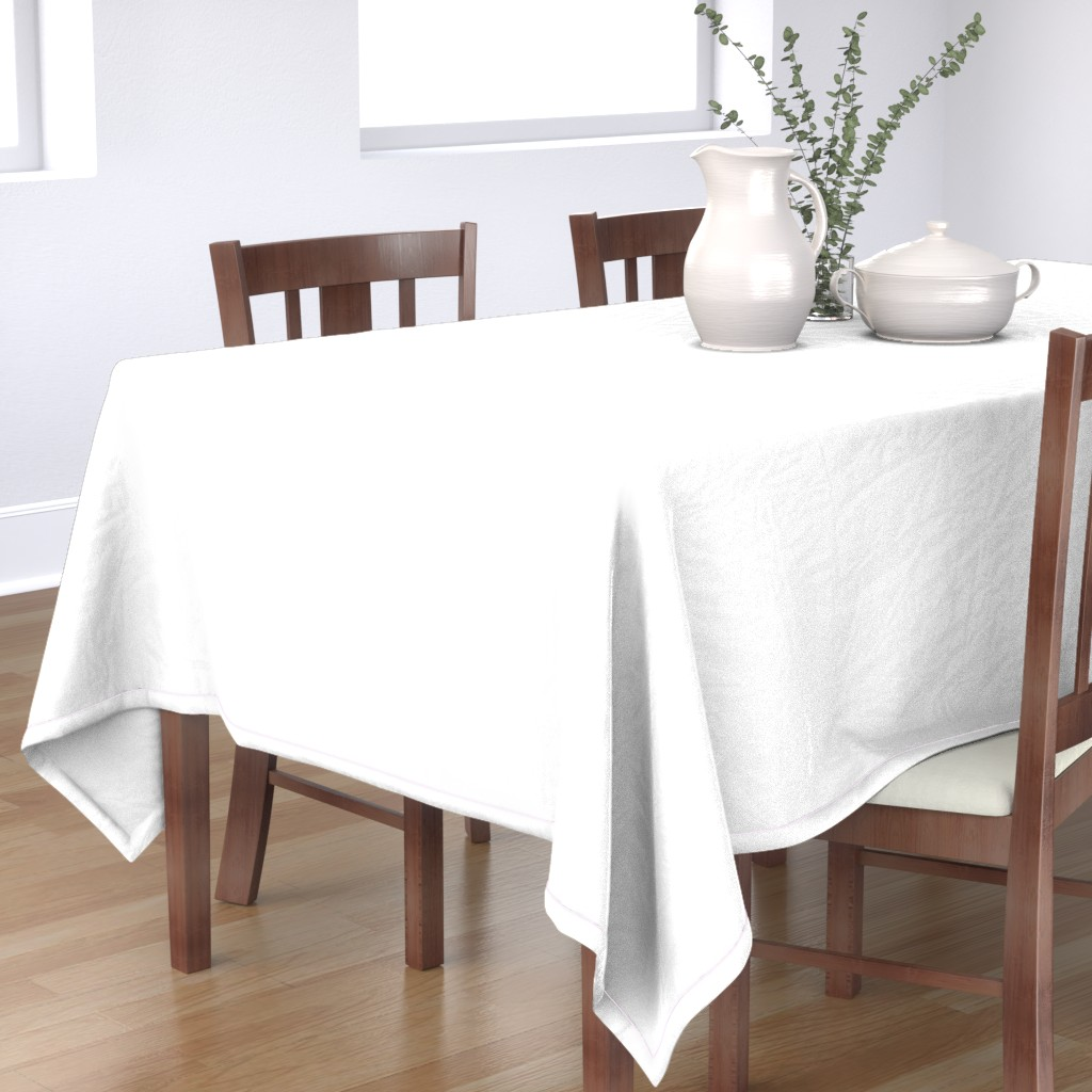 Bantam Rectangular Tablecloth featuring White by miamaria