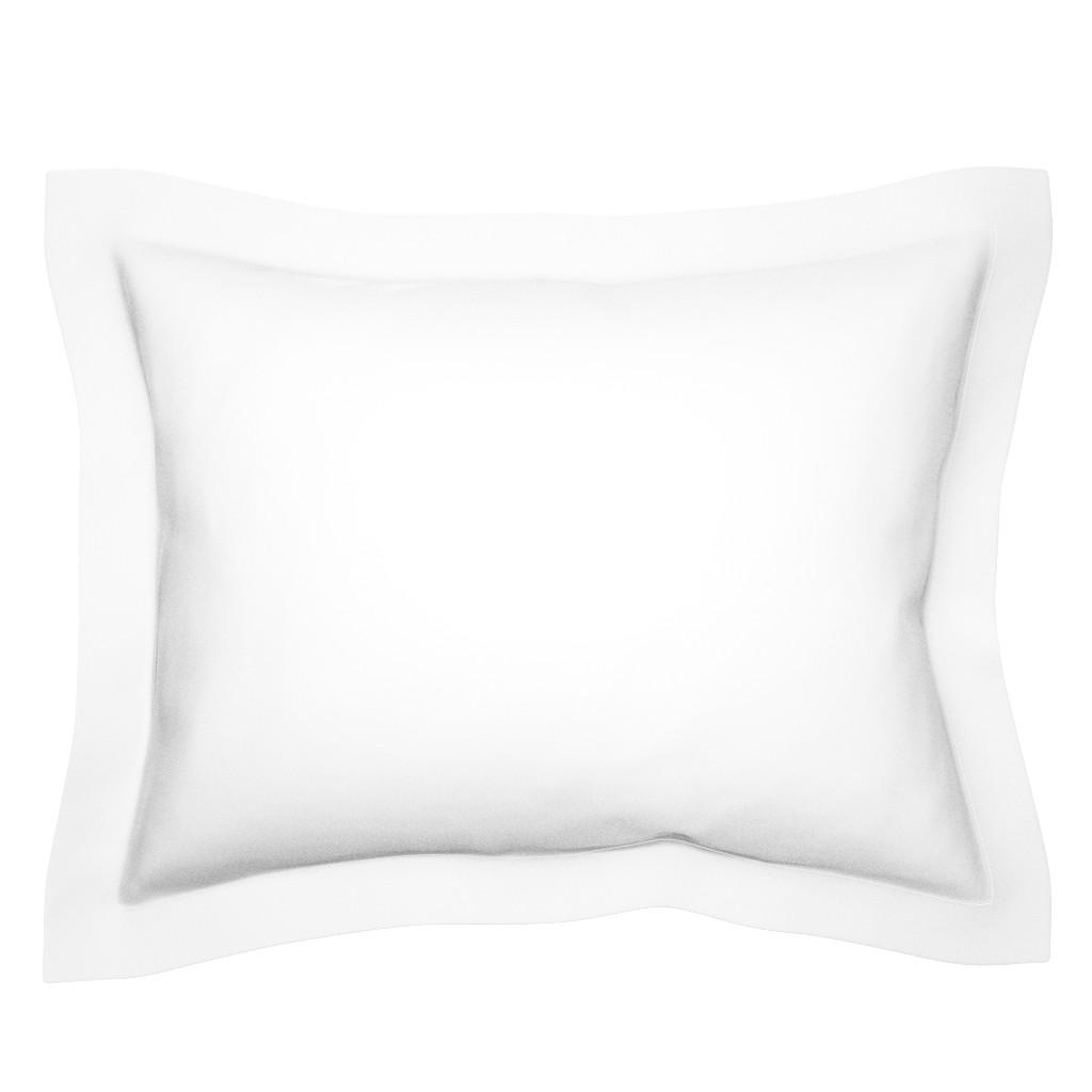 Sebright Pillow Sham featuring White by miamaria