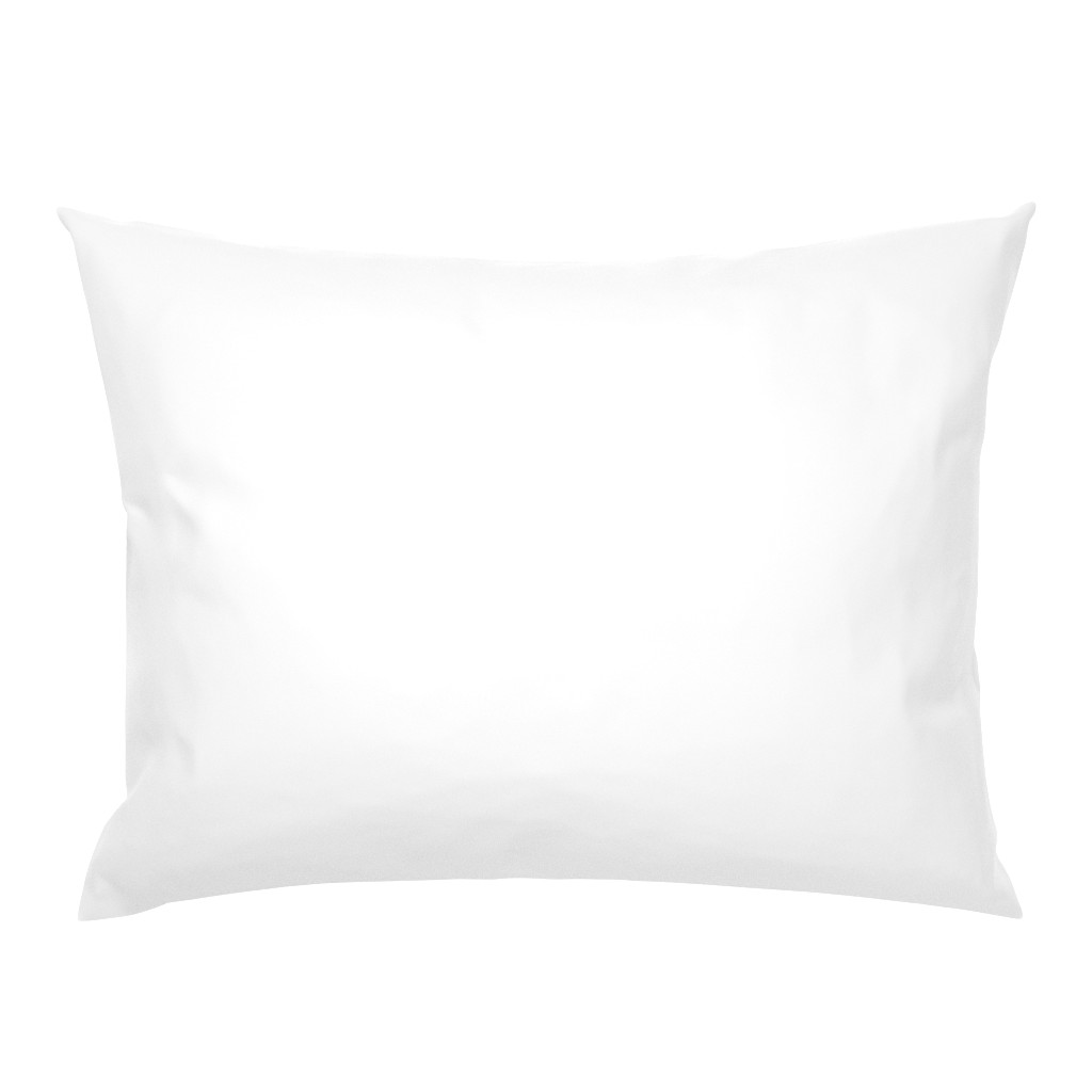 Campine Pillow Sham featuring White by miamaria