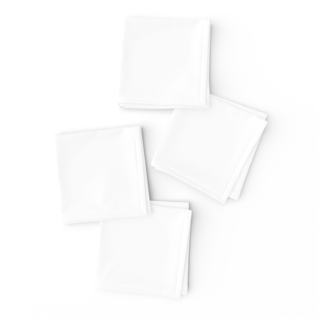 Frizzle Cocktail Napkins featuring White by miamaria