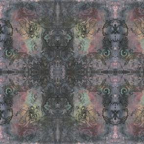 Rough Dark Baroque Curlicue 1
