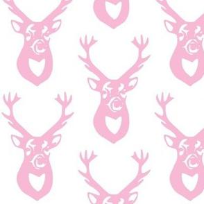 small pink deer