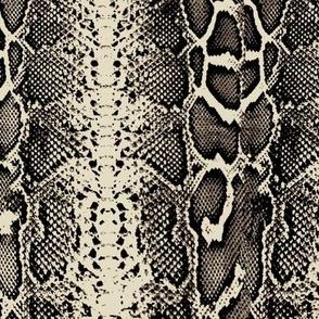 snakeskin beige and brown