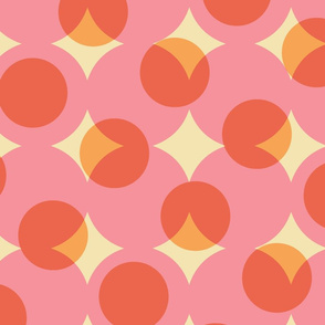 dotpink enormous halftone dots