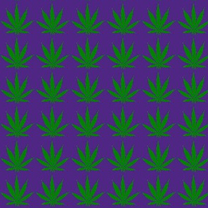 420 pot leaf - Granny Purps