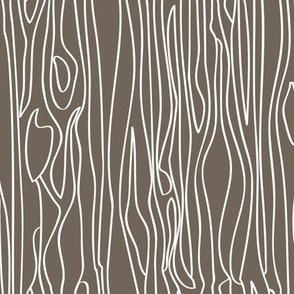 Woodgrain - Grey Brown