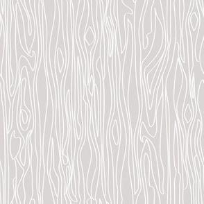 Woodgrain - Grey with White Grain - Small