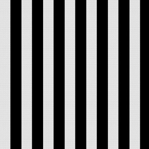White Burlap Textured and Flat Black Stripes (vertical)
