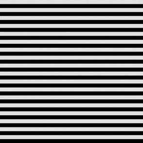 White Burlap Textured and Flat Black Stripes (horizontal)