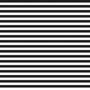 Black Burlap Textured and Flat White Stripes (horizontal)