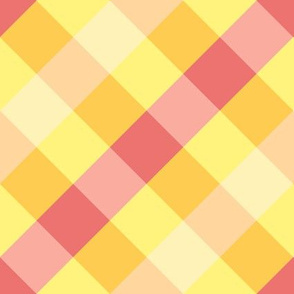Happy Yellow Gingham