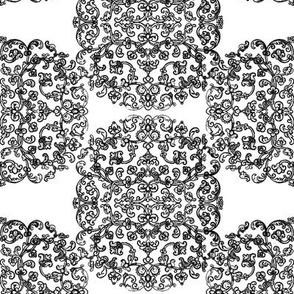 Renaissance Embroidery ~ Roundel