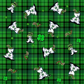 Saint Patricks Day Westies