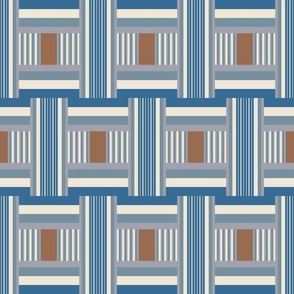 Junto Stripe in Blue
