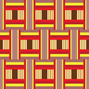 Junto Stripe in Red