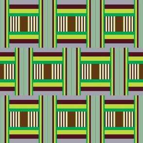 Junto Stripe in Green