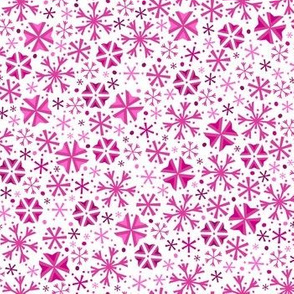 Snowflake Wonderland (Light Pink)