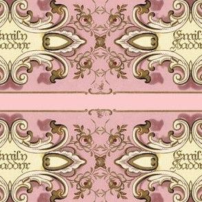 Petit Trianon ~ Emily Haddyr Border Stripe