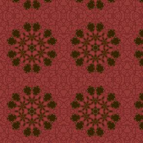 redbrownkaleid8x8x150