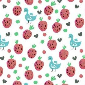 Strawberries and Tweeties