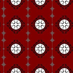 Moorish Windows - Red