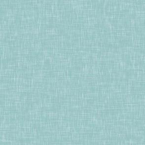 Aquamarine Solid Linen