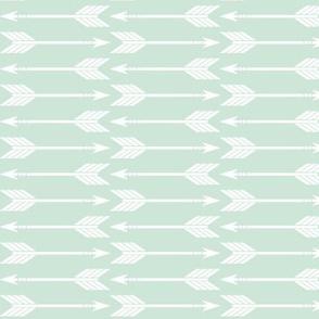 Arrows (mint) // Briar Woods