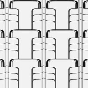 Nouveau Vaults - Black & White