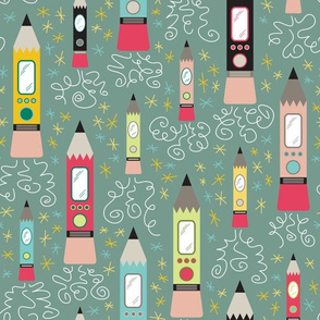 Pencil Rockets (Elementary)