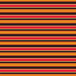Rocket stripes Red