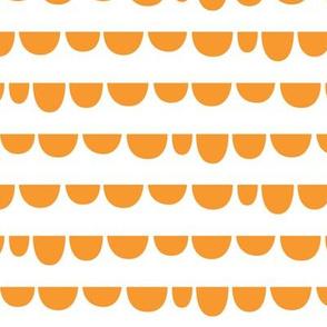 sunny stormy scallops orange