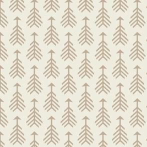 Arrows-Cream & Natural Beige