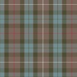 "Fraser Hunting tartan, 6"" weathered"