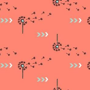 Directional Dandelions