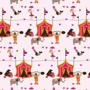 circus love ©2014 Jill Bull