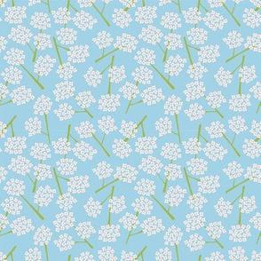My garden - quiet blue