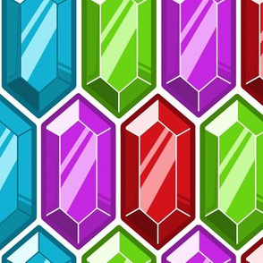 Crystal Rupee Fabric