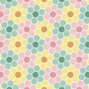 03899225 : hex flowers : springcolors