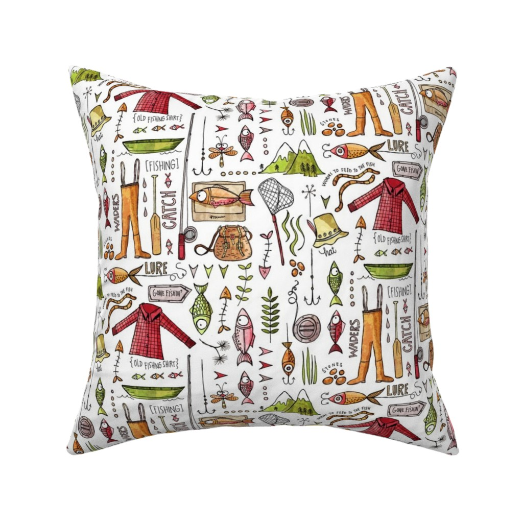 Catalan Throw Pillow featuring Mountain catch by mulberry_tree