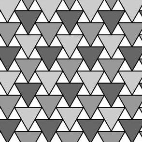 03900444 : triangle 2:1 in greys