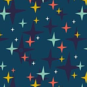 Rocket Dogs Stars - Blue