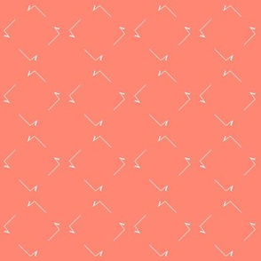 square root squares on coral