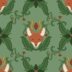 Majestic Fox Damask