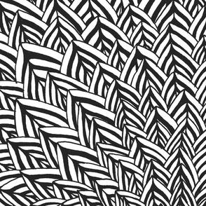 Feathers Dark Grey