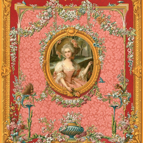 Rococo Frame ~ Mademoiselle Rosette
