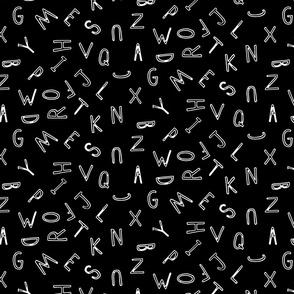 Black & White Alphabet