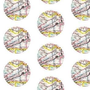 map dots